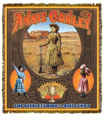 Annie Oakley Coverlet