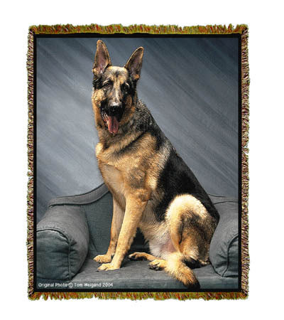 German Shepherd Coverlet -Tom Weigand ©