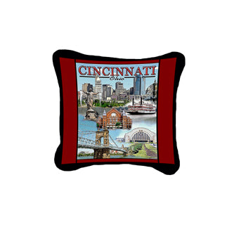 Cincinnati, OH Pillow