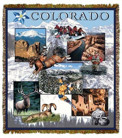 Colorado Coverlet