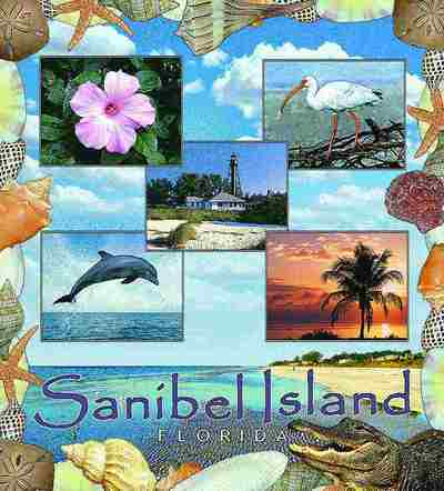 Sanibel Island, FL Coverlet