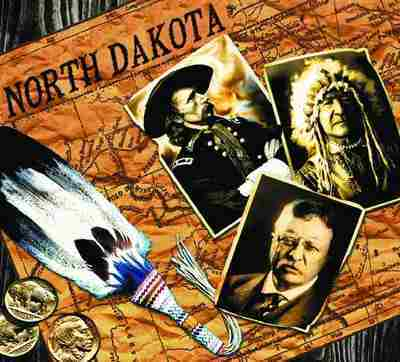 North Dakota Coverlet
