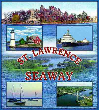 St. Lawrence Seaway Coverlet