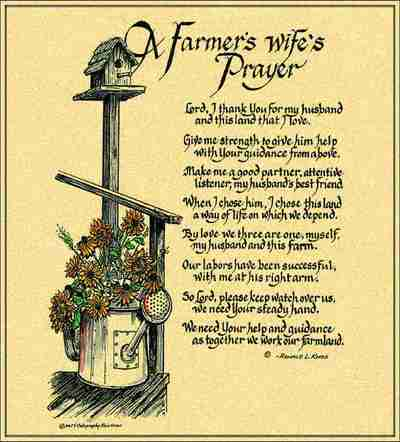 Farmers Wife's Prayer Coverlet ©Ron Knox
