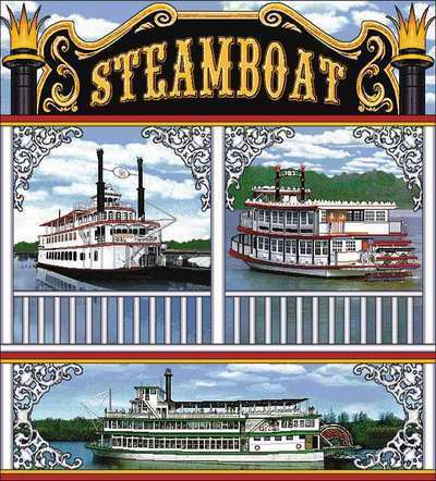 Steamboats Coverlet