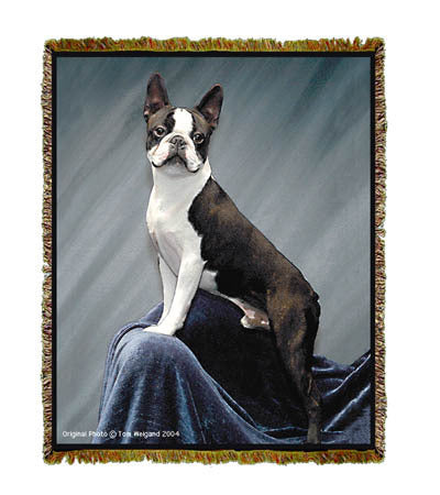 Boston Terrier Coverlet -Tom Weigand ©