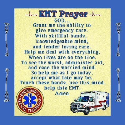 EMT Prayer Pillow