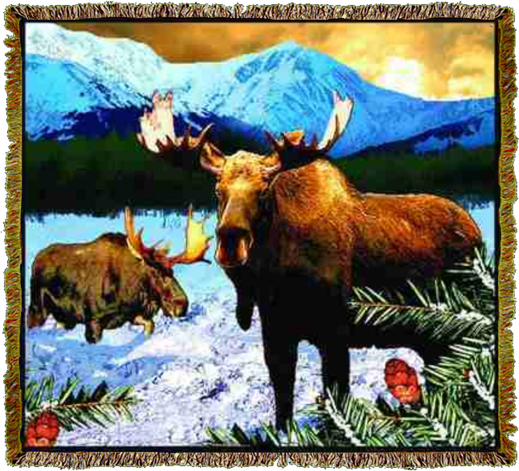 Lodge Moose Throw