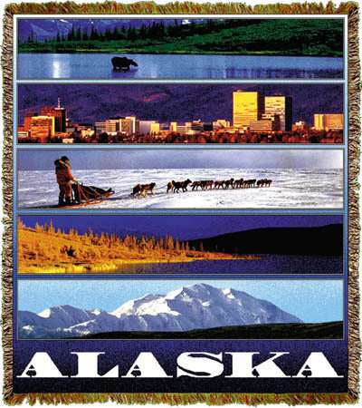 Alaska Panorama Coverlet
