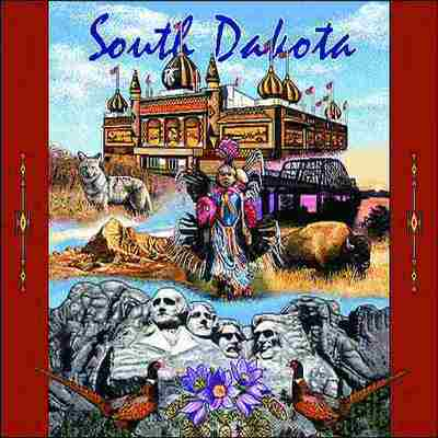 South Dakota Pillow
