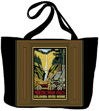Multnomah Falls by Paul A. Lanquist Tote Bag