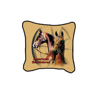 Horse Saddlebred Pillow