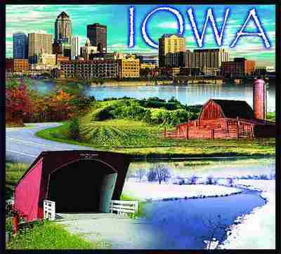 Iowa Coverlet