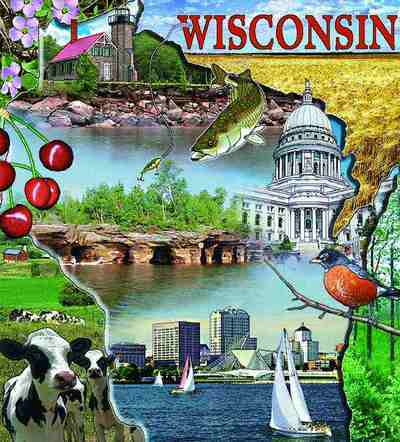 Wisconsin Coverlet