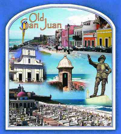Old San Juan Coverlet
