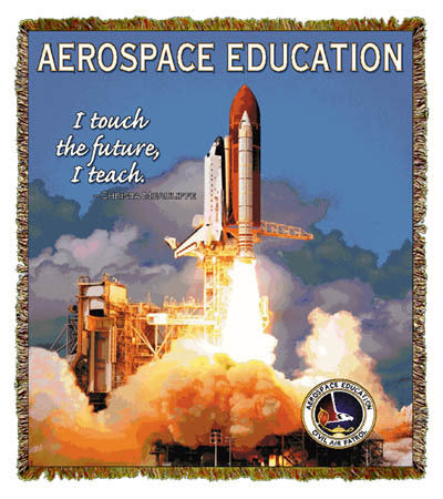 Aerospace Education Coverlet
