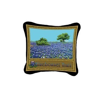 Bluebonnet Trail Pillow