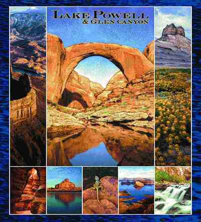 Lake Powell & Glen Canyon AZ/UT Coverlet
