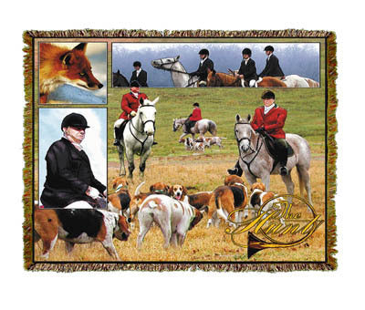 Horse the Hunt Coverlet