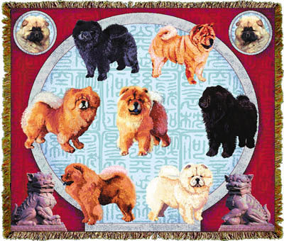 Chow Chow Coverlet