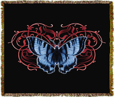 Butterfly Single Coverlet