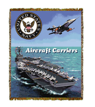Aircraft Carrier Coverlet