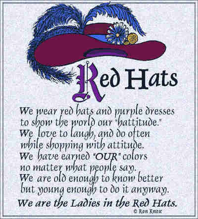 Red Hat Poem Coverlet ©Ron Knox