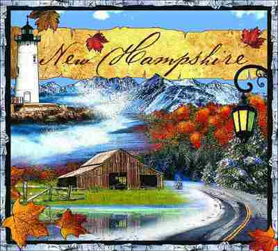 New Hampshire Coverlet