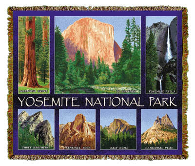 Yosemite National Park Coverlet