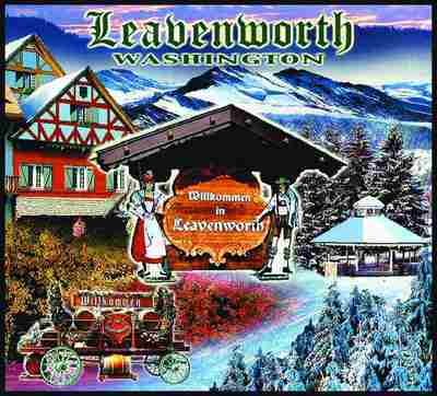 Leavenworth, WA Coverlet