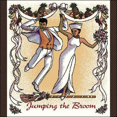 Jumping The Broom Tote Bag