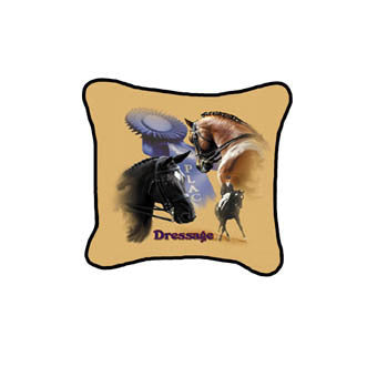 Horse Dressage Pillow