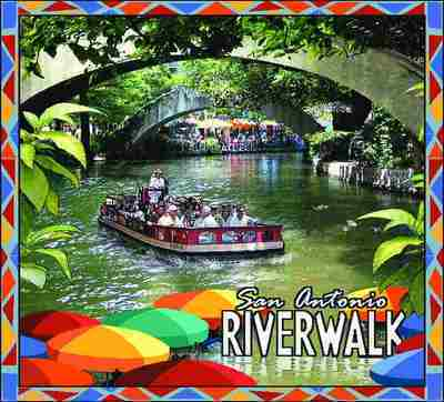 San Antonio River Walk Coverlet