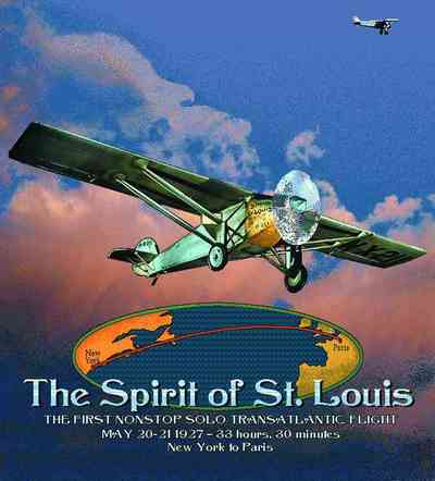Spirit of St. Louis Coverlet
