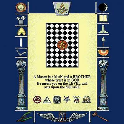 Masonic Symbols Pillow