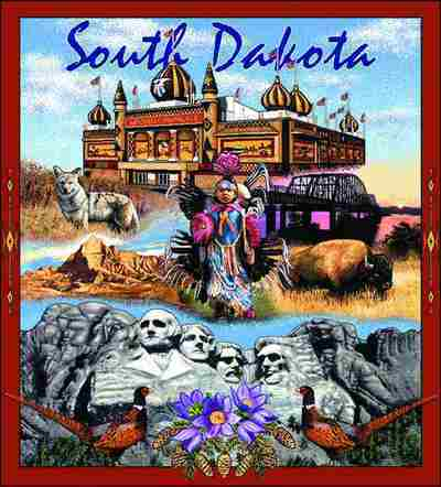 South Dakota Coverlet