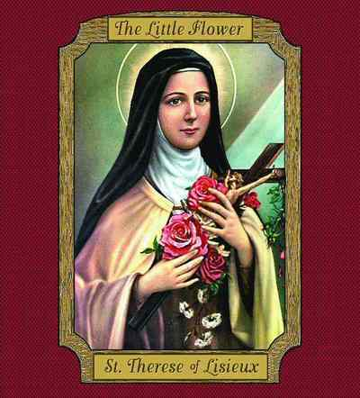 St. Therese Coverlet