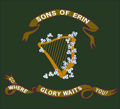 Son's of Erin Coverlet