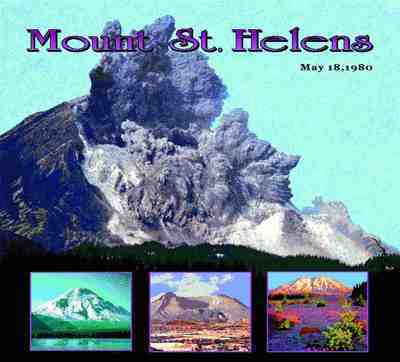 Mount St. Helens, WA Coverlet