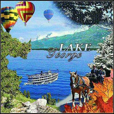 Lake George, NY Tote Bag