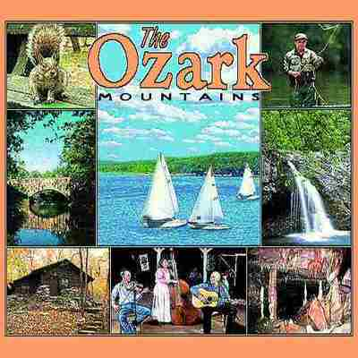 Ozark Mountains AR Pillow
