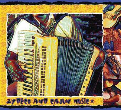 Zydeco and Cajun Music Throw Blanket