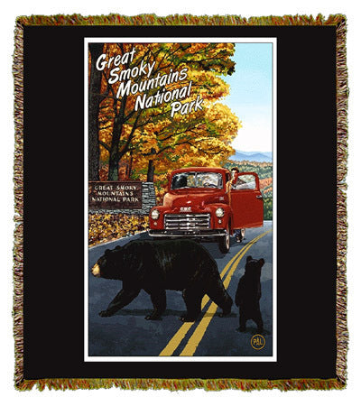 Great Smoky Mountains by Paul A. Lanquist Coverlet