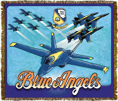 Blue Angels Coverlet