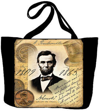 Abraham Lincoln Tote Bag