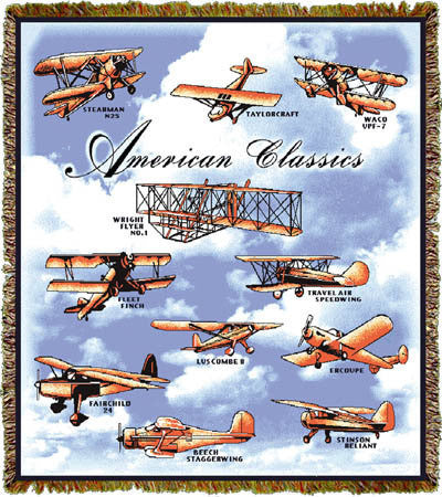 American Classics Throw Blanket