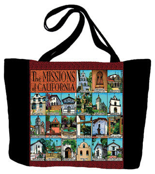 California Missions Tote Bag