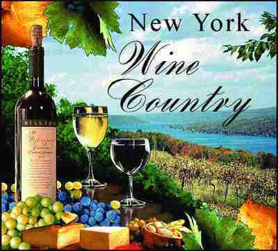 New York Wine Country Throw Blanket