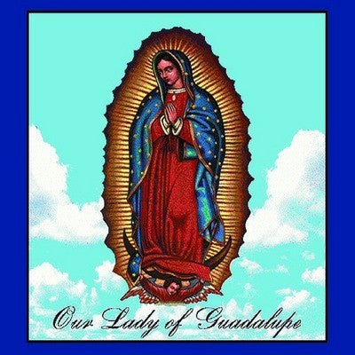 Our Lady Of Guadalupe Decorative Pillow