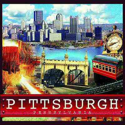 Pittsburgh Decorative Pillow